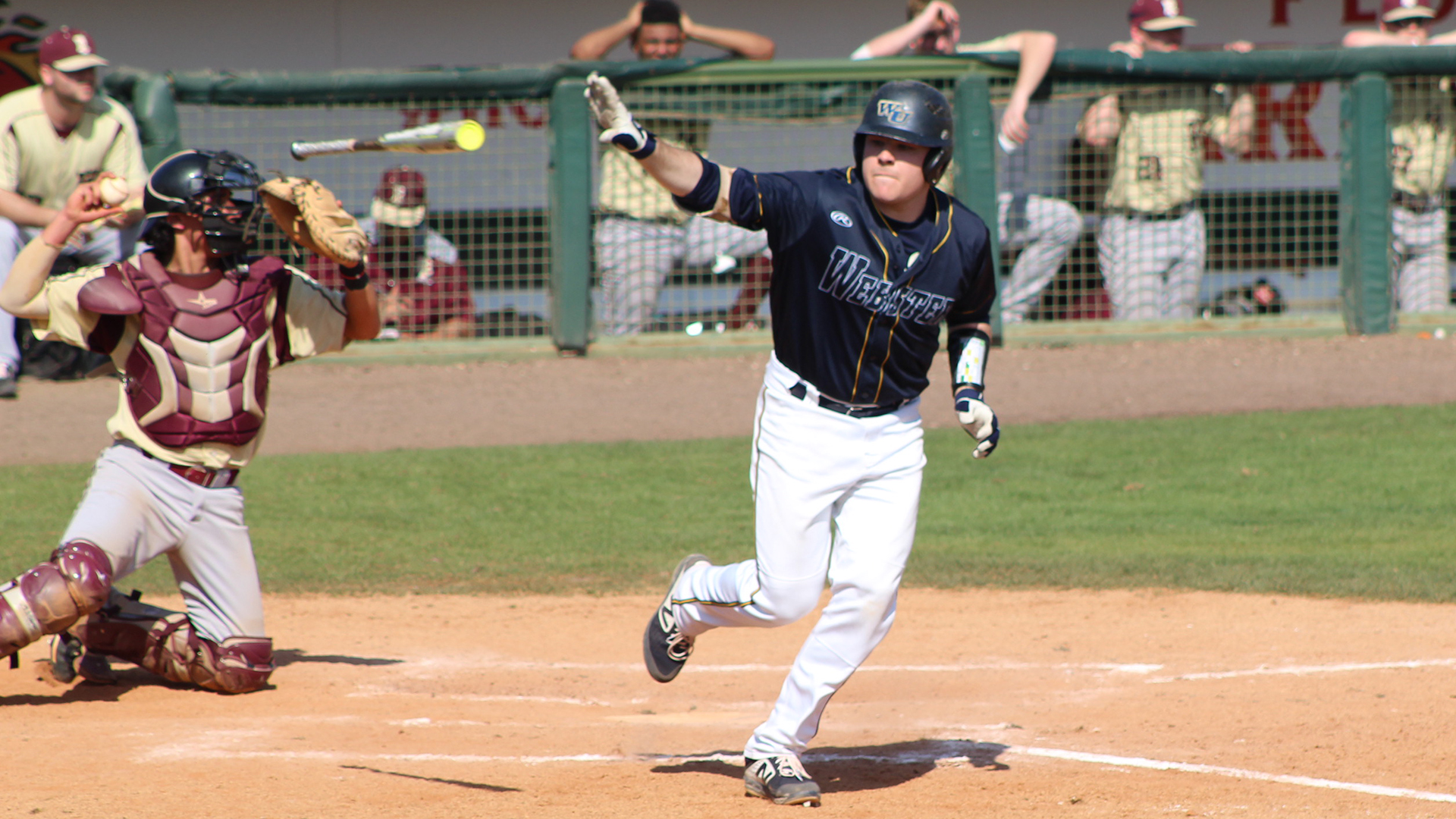 Weekend Home Baseball Series With Iowa Wesleyan Adjusted Due To Weather Webster University Athletics